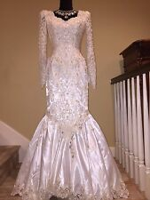 *** $28K VALENTINO EVENING WEDDING COCKTAIL COUTURE RUNWAY BEADED GOWN DRESS ***