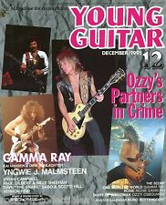 Young Guitar Magazine December 1991 Japan Black Sabbath Randy Rhoads Wylde