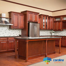 Cherry Cabinets All solid Wood Cabinets 10X10 RTA Kitchen Cabinets FREE SHIPPING