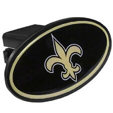 "New Orleans Saints Oval Trailer Hitch Cover [NEW] Truck Cap NFL 2"" Receiver"