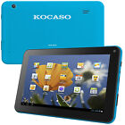 Kocaso Dual Core Tablet PC 4 GB Android 4.2 Dual Camera WiFi 1.2 GHz (Blue)