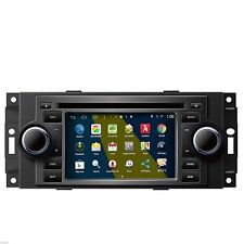 New Android Car DVD GPS Navi Radio For Dodge RAM Jeep Wrangler Chrysler Charger