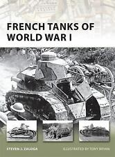 French Tanks of World War I (New Vanguard)-ExLibrary