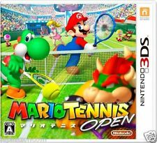 Used Mario Tennis Open NINTENDO 3DS JAPANESE  IMPORT