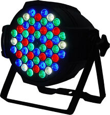 PAR LED 54x 1W Par 64 RGB Lighting DJ Party Disco Spot Lamp stage Light dmx SHOW