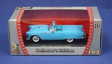 Yatming Road Signature 1:43 1955 Ford Thunderbird MIB Blue