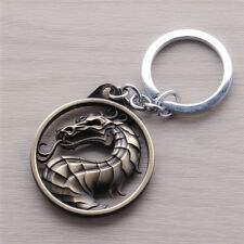 New Arrivals Online Game Mortal Kombat Key Chain Bronze Alloy Pendant Collection