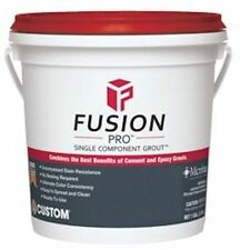 Fusion Pro Single Component Grout, Gallon - Pewter #19 - # FP191-2T