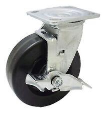 """6"""" Phenolic Swivel Caster Wheel Heavy Duty Toolbox Lock"""