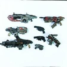 Lot 8 pcs Gears Of War Weapons accessories toy M108