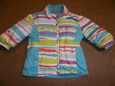 "OBERMEYER SKI SNOW JACKET ""HARMONY"" MULTI COLORS I GROW GIRL'S 1 12-24 MONTHS"