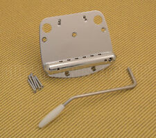 SB-0224-010 Chrome Tremolo Tailpiece Assembly & Arm for Mustang Guitar