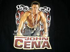 2005 WWE John Cena Chain Gang Soldier T-Shirt L Large WWF NXT Hustle Loyalty
