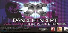 (RAVE FLYER 2008) DANCE CONCEPT @ WHITECHAPEL. LONDON. APHRODITE. NOOKIE.SHABBA