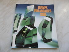 Formes Finlandaises 1986 - Softcover 80+ pages 1st edition