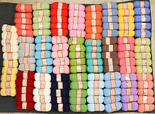 Huge Lot 130 balls of BABY YARN 26 COLORS wholesale price