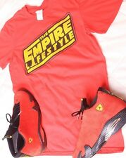 Empire Life Clothing Sz M Star Wars Shirt Jordan 14 Ferrari 3 4 5 6 7 9 10 11 13