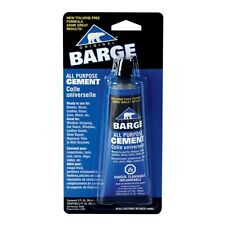 (1) ONE -Barge ~ 2oz. CONTACT CEMENT for LEATHER ~ All Purpose