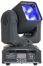 Ibiza light LMH410Z mini beam rgbw led moving head avec zoom 10-60 °
