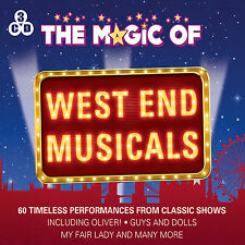3 CD BOX MAGIC OF THE WEST END MUSICALS OLIVER GUYS & DOLLS MY FAIR LADY CABARET