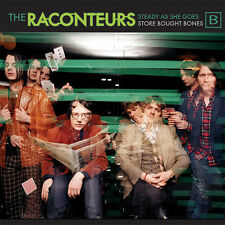 "RACONTEURS Steady as She Goes 7"" GREEN Jack White Stripes Record Store Day 2017"