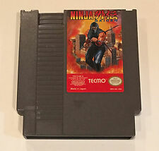 Ninja Gaiden - Tecmo 1989 NES Nintendo Cartridge Great Condition