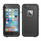 Genuine NEW 2015 Lifeproof iPhone 6S Fre Frē waterproof tough cover case Black