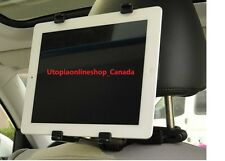 Adjustable Headrest Car Seat Tablet Mount Holder For iPad-CANADA-Kid Safety