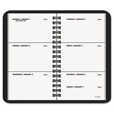 AT A GLANCE 70-035-05 2017 CALENDAR WEEKLY POCKET PLANNER BOOK BLK 2-1/2 x 4-1/2