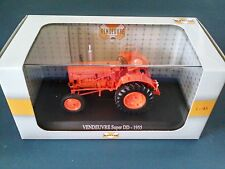 TRACTEUR VENDEUVRE SUPER 1/43 - MINIATURE COLLECTION UNIVERSAL HOBBIES 6047