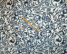 Maywood Cotton Quilt Fabric Navy Blue 2 yds X 44""