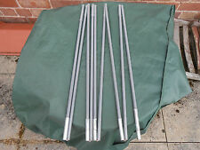 Second Hand Fibreglass Tent / awning Poles Grey 9 sections wih shockcord