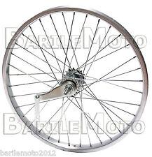 Ruota / Cerchio Posteriore CONTROPEDALE Bici Graziella - Mountain Bike 20 x 1.75