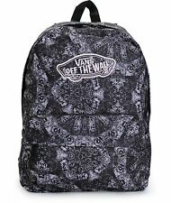 Vans Realm Kaleidoscope Backpack Book Travel Gym Bag New