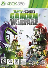Microsoft XBox 360 Game PLANTS VS ZOMBIES: GARDEN WARFARE