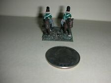 "Vintage Lead Miniature Field Soldiers on Horses - 1"" Tall - (#21)"