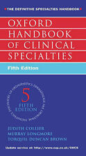 Oxford Handbook of Clinical Specialties, J. Colliers, M. Longmore, T.J. Duncan-B