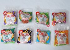 1999 Complete Set of 8: WINNIE the POOH Clips McDonald's Happy Meal Toys SEALED