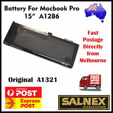 "Genuine Battery A1321 for Apple MacBook Pro 15"" A1286  2009-2010 Models only"