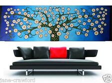 ABORIGINAL ARTIST DIRECT  TREE OF LIFE art painting 240cm by 80cm  colour choice