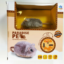 Paradise Pet Infrarrojo Control Remoto Fluffy Lindo 4ch Rc Amor Shy Pet Hamster