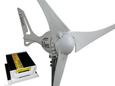 Set Wind Generator + charge controller 24V/500W white edition wind turbine i-500