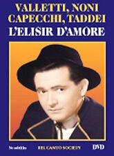 L'elisir D'Amore (DVD, 2004) zr Cesare Valletti,Alda Noni, Capecchi, Taddei