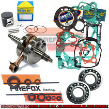 Suzuki RM125 2004 - 2008 Full Mitaka Engine Rebuild Kit Inc Crank Piston Gaskets