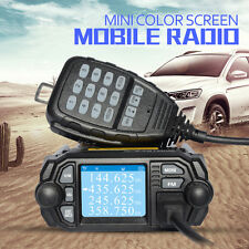 Zastone MP380 Colorful 136-174MHz & 400-480MHz 25W 200 Channels Mini Car Radio