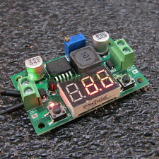 DC-DC Step-Down Buck Converter Adjustable Power 4-38V - 1.2-36V 5A Voltmeter X18
