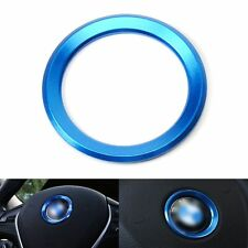 Blue Steering Wheel Decoration Ring Cover for BMW 3 Series X5 M3 M6 F10 E70 E71