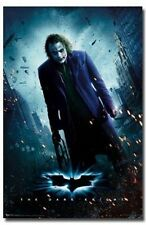 BATMAN THE DARK KNIGHT HEATH LEDGER JOKER ONE SHEET POSTER NEW 22X34 FREE SHIP