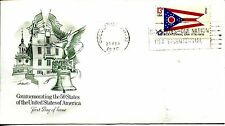 1976 STATE FLAGS OHIO ARTMASTER CACHET UNADDRESSED FDC
