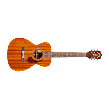 Guild M-120E Concert Acoustic-Electric Guitar Rosewood Fretboard Natural + Case